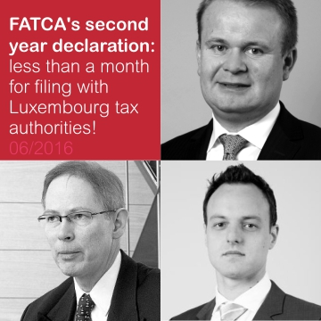 FATCA second year declaration